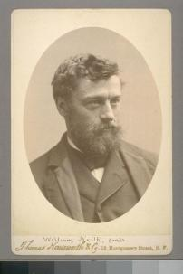 William Keith, painter. Photograph by Thomas Houseworth & Co. Courtesy of The Bancroft Library, University of California, Berkeley Online